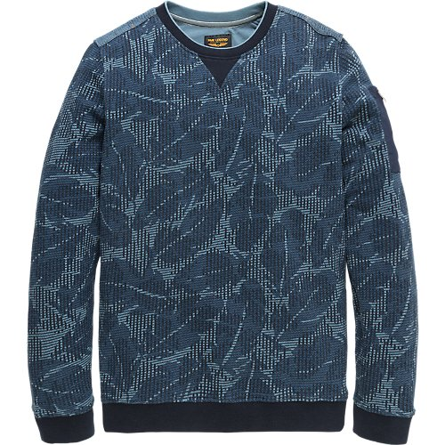 Jacquard Terry Sweater