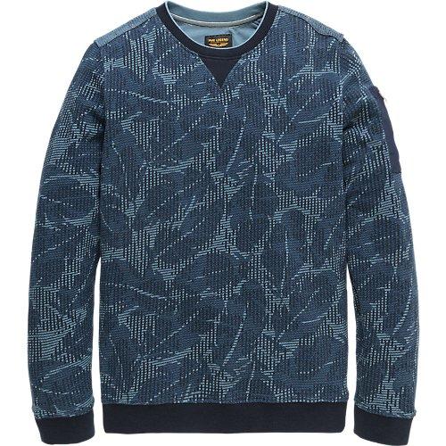 Jacquard Terry Sweater