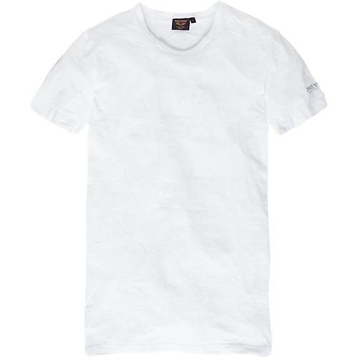 Cotton-elasthan tee