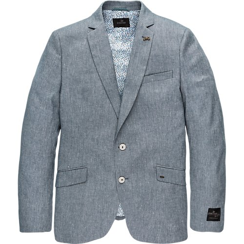 Denim Look Blazer