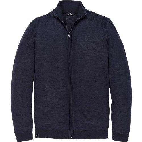 High neck zip cardigan
