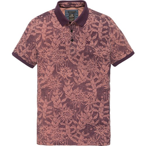 FLOWER POLO SHIRT