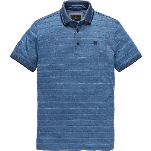 Pique Streep Polo Shirt