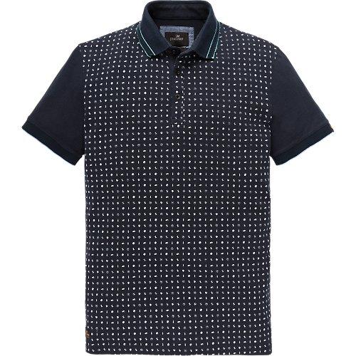 Short sleeve polo jersey