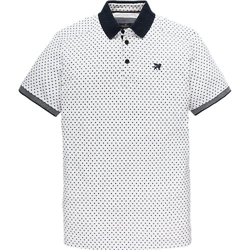Pique Two Tone Stretch polo