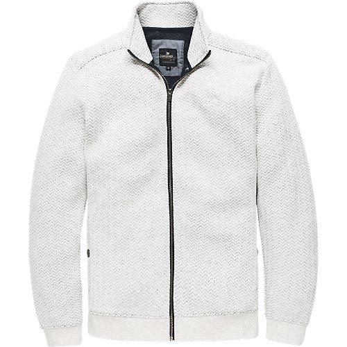 Tire Track zip sweat jacket