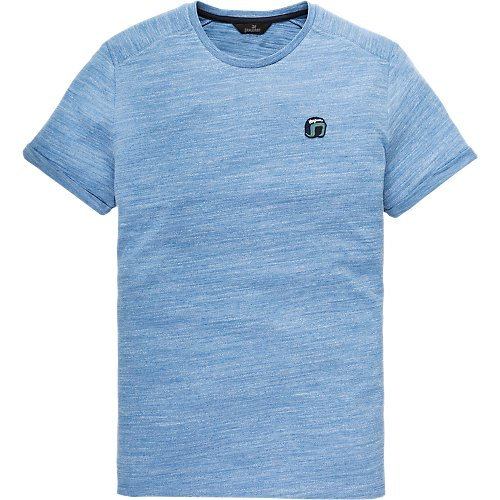 r-neck badge t-shirt