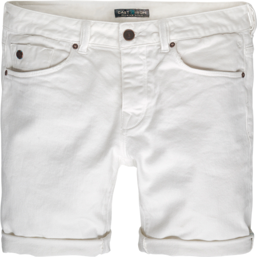 SUMMER WHITE COPE SHORTS