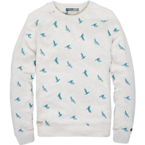 BIRD EMBROIDERY SWEATER